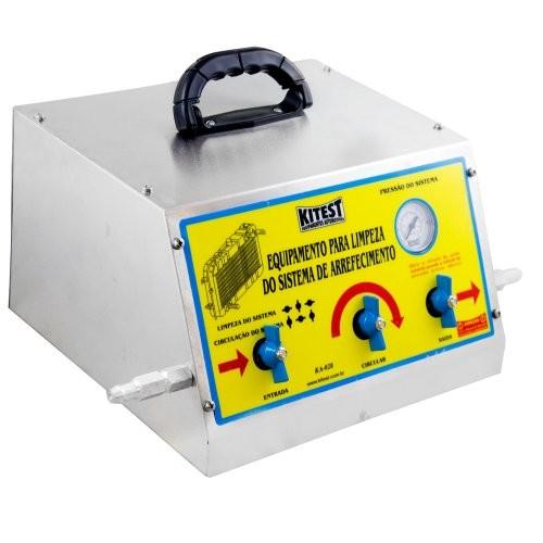 Máquina para Limpeza do Sistema de Arrefecimento