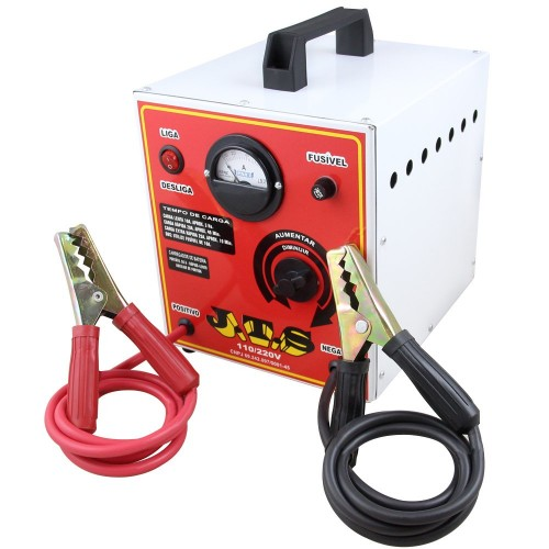 Carregador de Bateria Portátil 50A