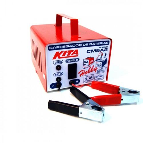 Carregador de bateria 5A Portátil