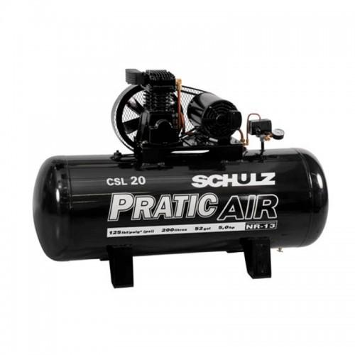Compressor Pratic Air CSL 20/200 Schulz