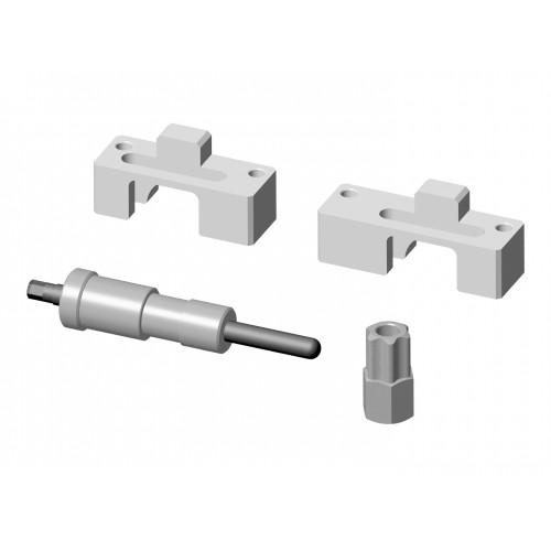 Conjunto com 4 ferramentas para sincronismo dos motores Mercedes-Benz