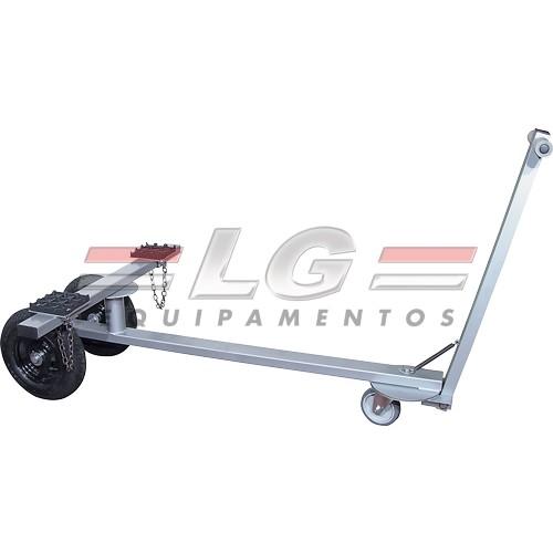 Carro para transporte de equipamentos Pneumático