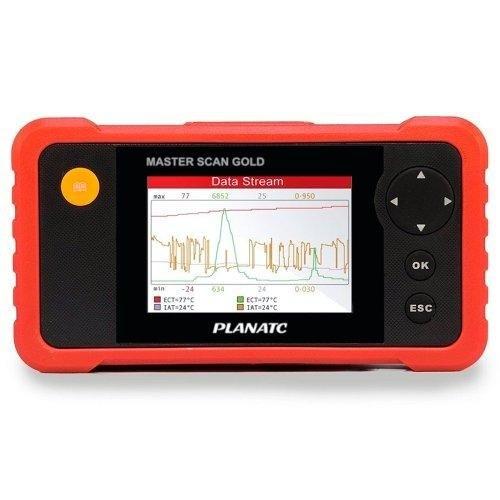 Scanner Automotivo Master Scan Gold Planatc