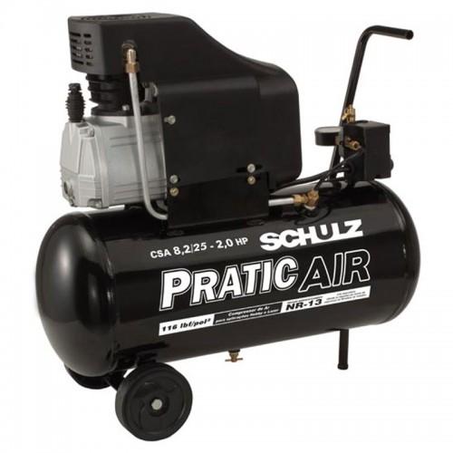 Compressor Pratic Air 8,2/25 Schulz