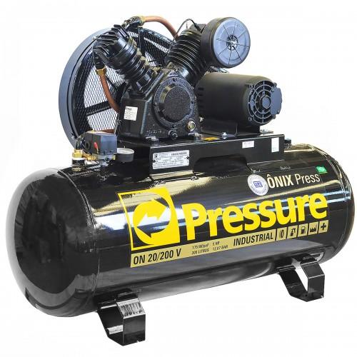 Compressor Pressure ON 20/200