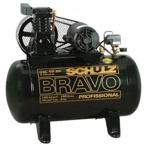 Compressor Bravo CSL 10BR/100 Schulz