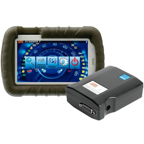 Scanner Automotivo Raven 3 com Tablet de 7 Pol.